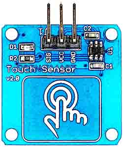 touch module